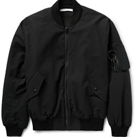 Givenchy - Padded Stretch-Cotton Cloqué Bomber Jacket
