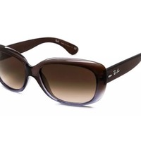 Ray-Ban RB4101 860/51 Jackie Ohh Women's Designer Sunglasses Brown