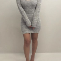 HOT SWEATER DRESS
