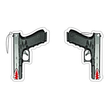 "G17 ""SHARK MOUTH"" PISTOL AIR FRESHENER"
