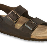 Milano  Habana Oiled Leather Sandals | Birkenstock USA Official Site