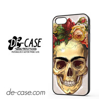 Skull Flower Crown DEAL-9648 Apple Phonecase Cover For Iphone 5 / Iphone 5S