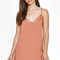 Kendall & Kylie Silk Slip Dress With Bralette at PacSun.com