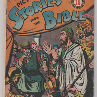 Picture Stories from the Bible (New Testament); V1, 3.  GD/VG.  1946.  EC Comics