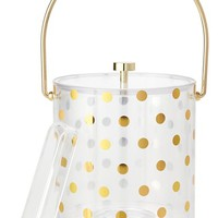 kate spade new york 'raise a glass' ice bucket & tongs