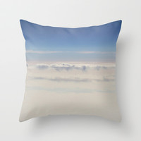 sky Throw Pillow by Marianna Tankelevich