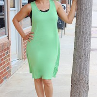 Hello to Summer Dress ~ Lime