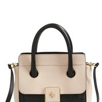 Tory Burch 'Small Clara' Leather Tote