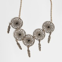 Free As Wind Dreamcatcher Necklace | Threadsence
