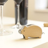 Piggy Corkscrew - Kikkerland Design Inc