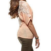 rue21 :   LACE BACK PEASANT