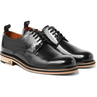 AMI - Patent-Leather Derby Shoes