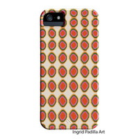 Summer Whimsy, iPhone 5 Case, iPhone Case, Hipster, funky, abstract, Art, iPhone cases, by Ingrid, iPhone 5S case