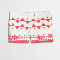 """Factory 3"""" printed stretch chino short - AllProducts - nullClearance - J.Crew Factory"""