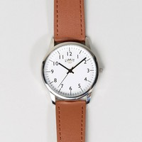 Limit Watch In Tan Exclusive To ASOS at asos.com