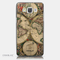 World Map Vintage 4607, Samsung Galaxy A5
