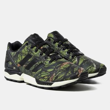Buy Adidas Originals ZX Flux Shoes - Woods/Core Black from Urban Industry | Urban Industry