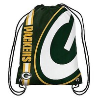 Green Bay Packers Big Logo Drawstring Backpack