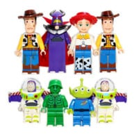 Toy Story Series Building Blocks Sets Model Bricks Baby Toy