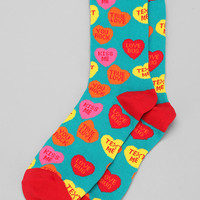 Valentine's Day Sock - Urban Outfitters