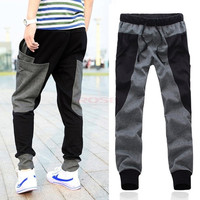 Fashion Brand Cotton Drop Crotch Pants Men Outdoors Skinny Joggers Sweatpants Hip Hop Harem Baggy Casual Trousers Men Pants SV013069|26601 = 1745571652