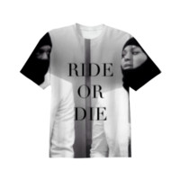 Ride or Die Shirt created by Nxtlvlco   Print All Over Me
