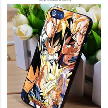Dragonball Saiyan Super iPhone for 4 5 5c 6 Plus Case, Samsung Galaxy for S3 S4 S5 Note 3 4 Case, iPod for 4 5 Case, HtC One for M7 M8 and Nexus Case