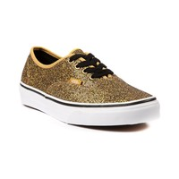 Vans Authentic Glitter Skate Shoe in Gold | Shi by Journeys
