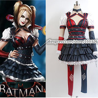Batman  Harley Quinn Costumes Suicide Squad Cosplay Outfit Halloween Costume For Women Custom Made