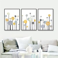 Scandinavian Style Nordic Poster Wall Art Canvas Painting Posters And Prints Picture Canvas Pictures For Living Room Unframed