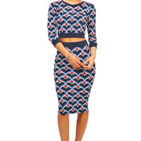 Mod Scale Two Piece | Trendy Clothes at Pink Ice