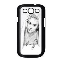Super Star Miley Cyrus Cool Cover Plastic Durable Case For Samsung Galaxy S3 s3-92042