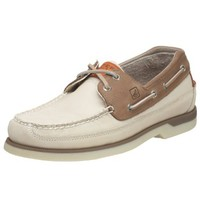 Sperry Top-Sider Men's Mako 2 Eye Boat Shoe,Oyster/Taupe,8.5 M US
