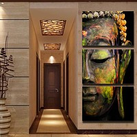 Buddha Oil Painting Wall Art Paintings Picture Paiting Canvas Paints Home Decor HD Print Painting Wall Art Picture (Unframed)