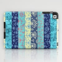 Lily & Lotus Layers iPad Case by micklyn
