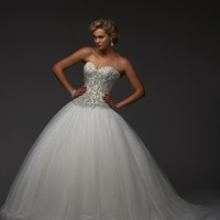 Bonny Bridal Essence Collection Wedding Dress 8401