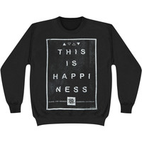 Hands Like Houses Men's  No Parallels Sweatshirt Black Rockabilia
