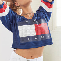 Tommy Jeans '90s Sports Jersey | Urban Outfitters
