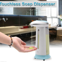 400ml Automatic Sensor Touchless Hands free Sanitizer Soap Liquid Soap Dispenser