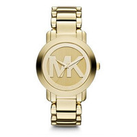 Michael Kors Gold-Tone Steel Women's Watch