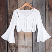 Cupshe A Day In Paradise Lace Up Crop Top
