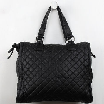 Quilted Vegan Leather Bag