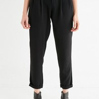 Light Before Dark Pleat Front Pant | Urban Outfitters