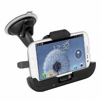 Amazon.com: iBOLT Hands-free Vehicle Charging Phone Holder / Car Dock for Samsung Galaxy S3: Cell Phones & Accessories