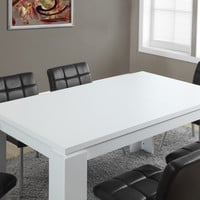 "White Hollow-Core 36""X 60"" Dining Table"