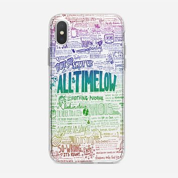 All Time Low iPhone XS Case