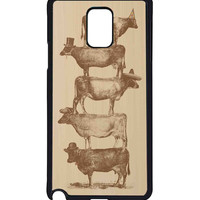 Cow Cow Nuts For Samsung Galaxy Note 4 Case ***