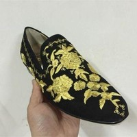 DCCK2 Cl Christian Louboutin Loafer Style #2367 Sneakers Fashion Shoes