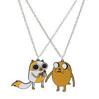 Adventure Time Jake & Cake Best Friends Necklaces | Hot Topic