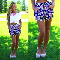 Fresh Blooms Shorts